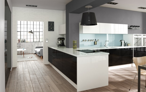 Contemporary Kitchen Design and Installation in Carlisle, Cumbria