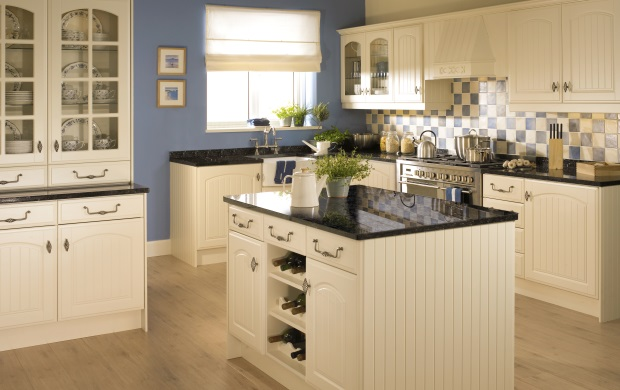 Painted Kitchen Design and Installation in Carlisle, Cumbria