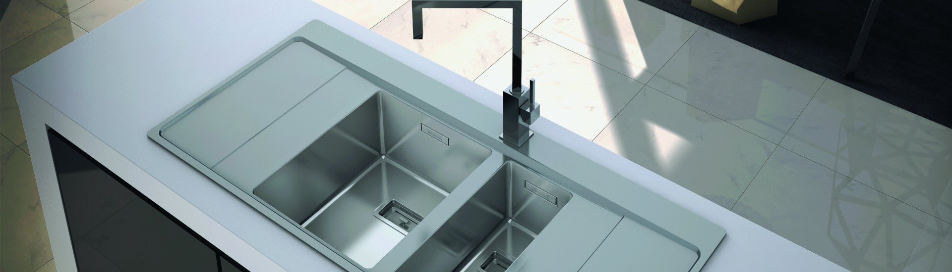 Kitchen sink and tap designs available in Carlisle, Cumbria