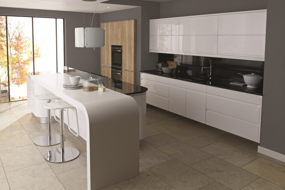 Contemporary kitchen design and installation, Carlisle, Cumbria