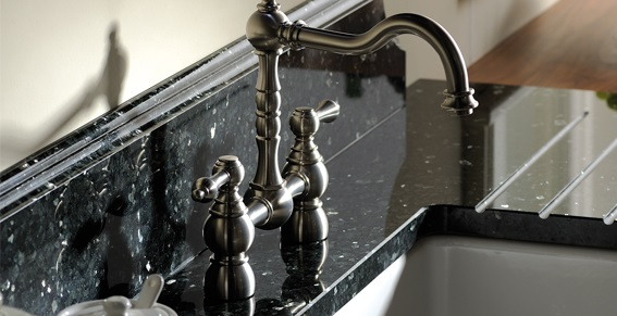 Kitchen sink and tap designs from Border Kitchens in Carlisle, Cumbria